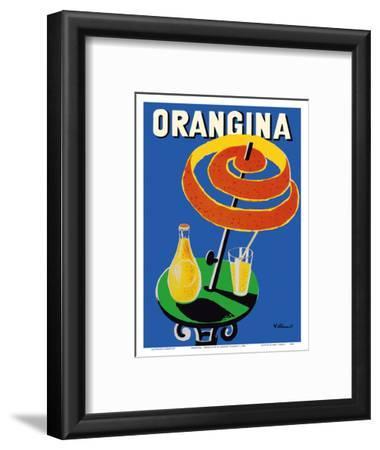 Orangina Sparkling Soda - Umbrella Ad