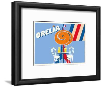 Orelia (Orangina) Beverage - Eifel Tower, Paris