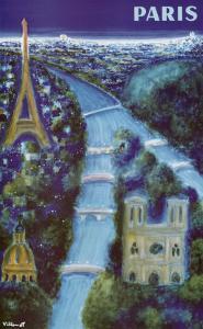 Paris by Bernard Villemot