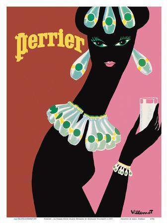 Perrier - La Femme Noir (Black Woman)