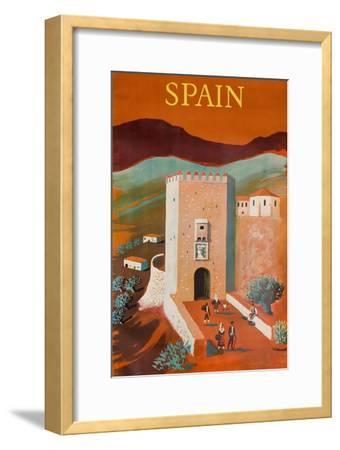 Spain Poster