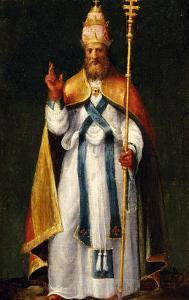 Saint Leo the Great by Bernardino Campo