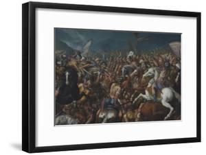 The Fight Between Scipio Africanus and Hannibal, C. 1616-1618 by Bernardino Cesari