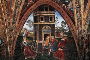 Martyrdom of Saint Barbara by Bernardino di Betto Pinturicchio