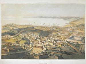 Panoramic View of Trieste by Bernardino di Betto Pinturicchio