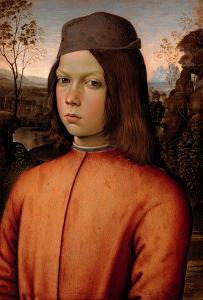 Portrait of a Boy by Bernardino di Betto Pinturicchio