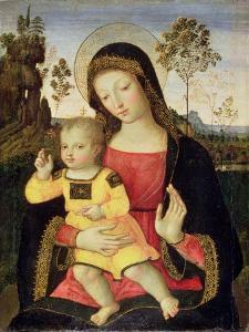 The Virgin and Child, 15th Century by Bernardino di Betto Pinturicchio