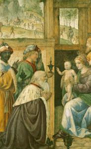 Adoration of the Magi by Bernardino Luini