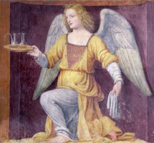 An Angel, 1525 by Bernardino Luini