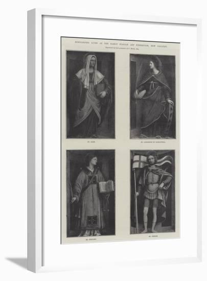 Bernardino Luini at the Early Italian Art Exhibition, New Gallery--Framed Giclee Print
