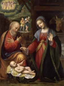 La Nativité by Bernardino Luini