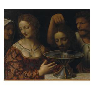 Salome with the Head of St. John the Baptist by Bernardino Luini