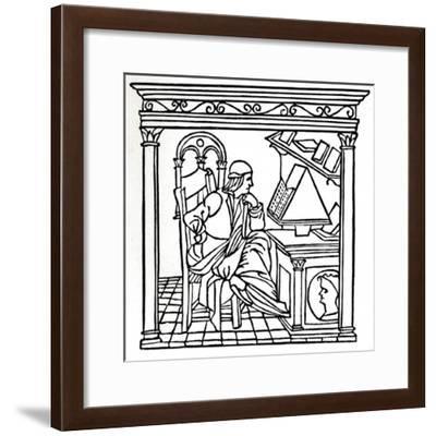 Bernardo Bellincioni (1452-1492), Italian Poet, 1493, (1917)--Framed Giclee Print