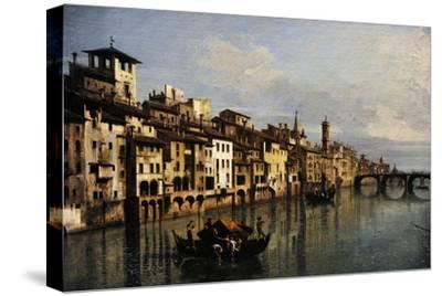 Bernardo Bellotto (1721-1780). The River Arno in Florence, 1742