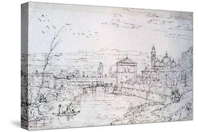 Bridge over the River and Santa Giustina, C1740-1780