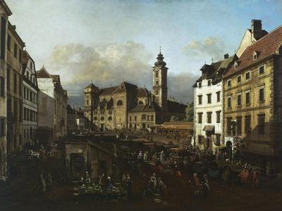 Freyung Square from the South-East, 1758-1761, Vienna, Austria