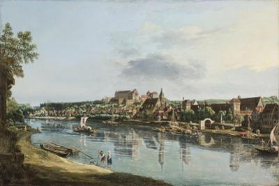 Pirna on the Elba, C.1756