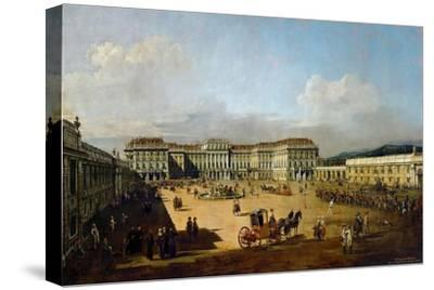 Schönbrunn Palace Viewed from the Front Side, Between 1758 and 1761
