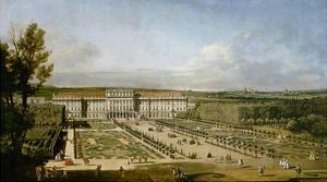 Schonbrunn Palace and Gardens by Bernardo Bellotto