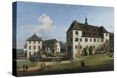 The Fortress of Konigstein: Courtyard with the Magdalenenburg, 1756-58