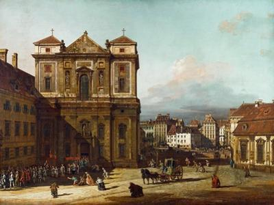 The Freyung Iin Vienna, from the Northwest, Between 1758 and 1761