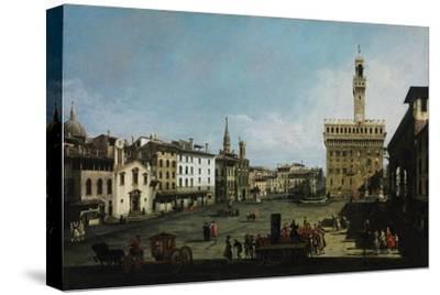 The Piazza Della Signoria in Florence, 1742