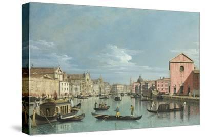 Venice: The Grand Canal facing Santa Croce. Perhaps 1740s