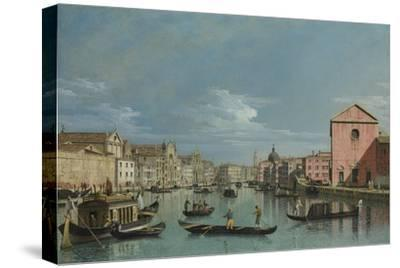 Venice, Upper Reaches of the Grand Canal Facing Santa Croce, 1740s