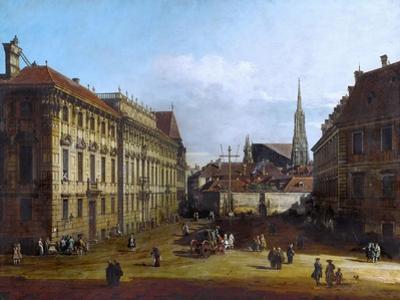 Vienna, the Lobkowitzplatz, Between 1758 and 1761
