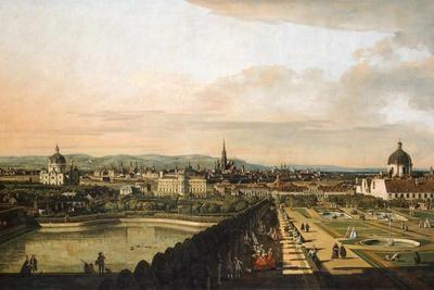Vienna Viewed from the Belvedere Palace, 1759-1760