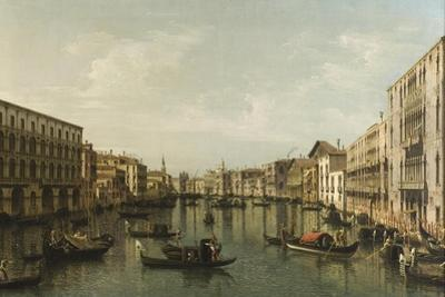 View of Grand Canal with the Palazzi Foscari and Moro Lin