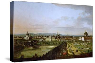View of Vienna from the Belvedere, Between 1758 and 1761
