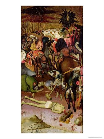 The Decapitation of St. George, Panel from an Altarpiece, c.1435