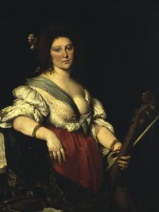 Barbara Strozzi by Bernardo Strozzi