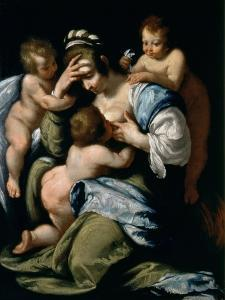 Charity by Bernardo Strozzi