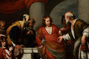 Der Zinsgroschen, 1630S by Bernardo Strozzi