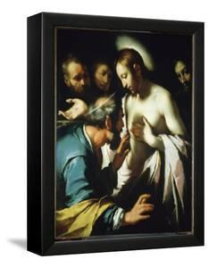 Doubting Thomas by Bernardo Strozzi