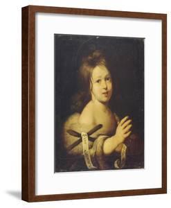 John the Baptist as Child by Bernardo Strozzi