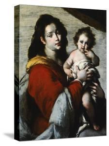 Madonna and Child by Bernardo Strozzi