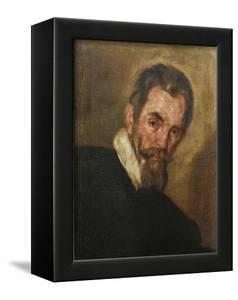 Portrait of the Composer Claudio Monteverdi (1567-164) by Bernardo Strozzi
