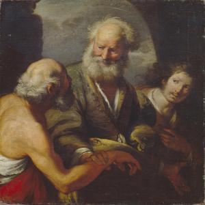 Saint Peter Healing a Paralytic by Bernardo Strozzi
