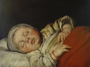 Sleeping Child by Bernardo Strozzi