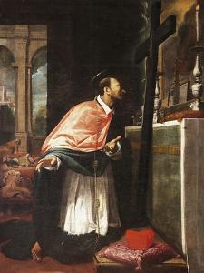 St Charles Borromeo by Bernardo Strozzi