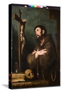 St. Francis in Ecstasy, C.1610-20 by Bernardo Strozzi