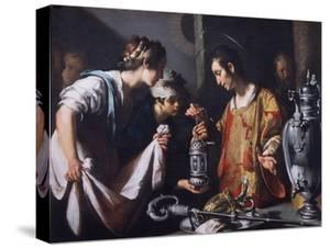 St. Lawrence Distributing the Riches of the Church, C.1625 by Bernardo Strozzi