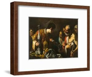 St. Lawrence Distributing the Treasures of the Church, c.1625 by Bernardo Strozzi