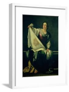 St. Veronica by Bernardo Strozzi
