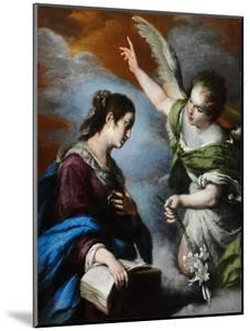 The Annunciation, C. 1644 by Bernardo Strozzi