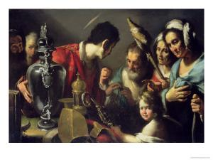 The Charity of St. Lawrence by Bernardo Strozzi