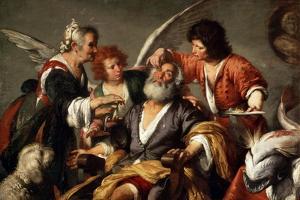 The Healing of Tobit, C1635 by Bernardo Strozzi